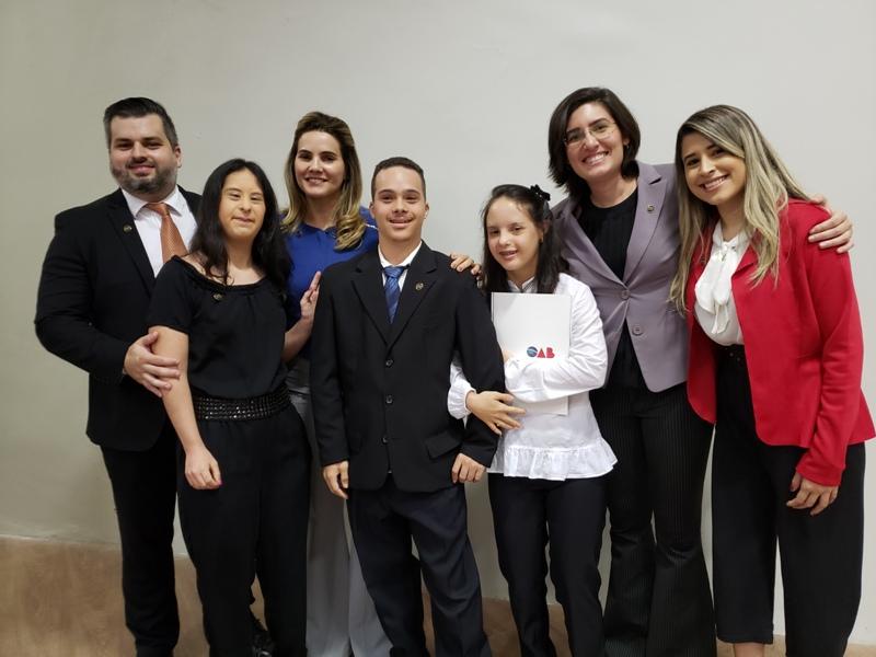 Solenidade Especial de Entrega de Carteiras aos novos advogados e advogadas