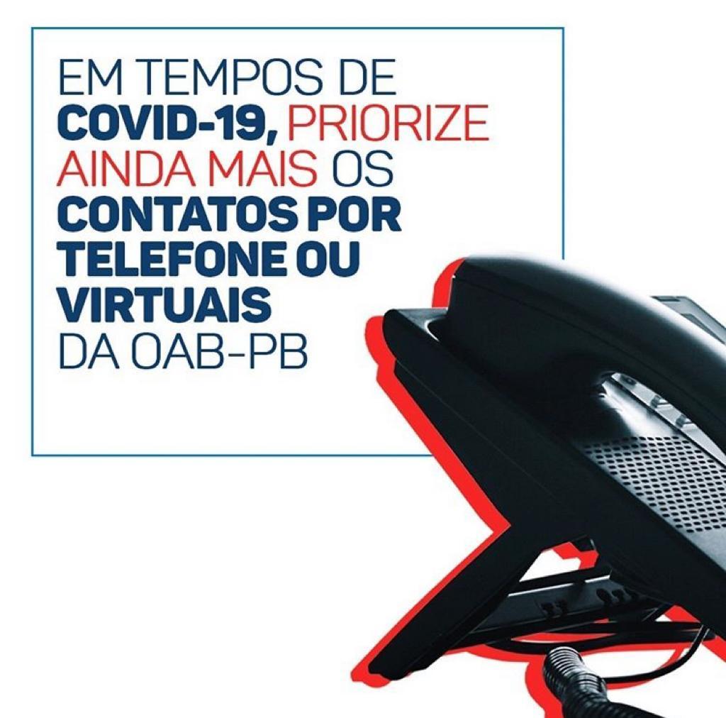 OAB-PB divulga contatos úteis para advogados de Tribunais, Ministérios Públicos e outros órgãos do sistema jurídico