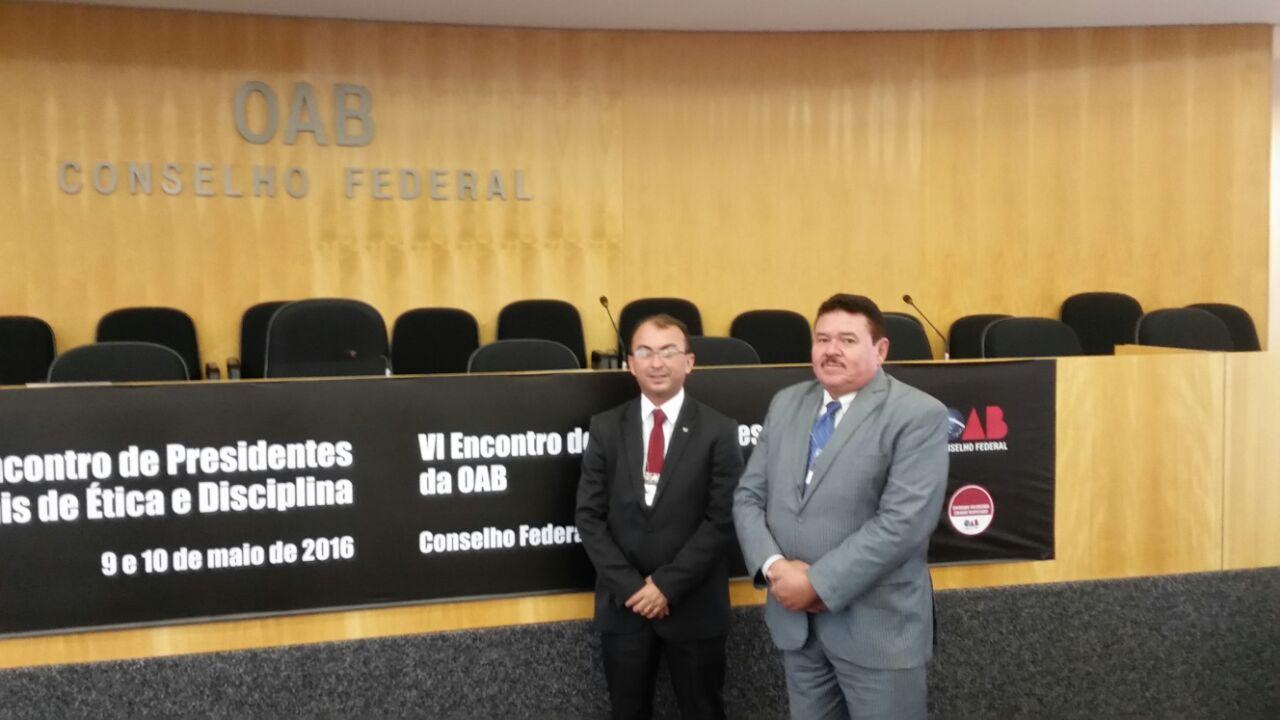 Rogério Cabral e Paulo Freire participam de encontro nacional dos Tribunais de Ética e Corregedores