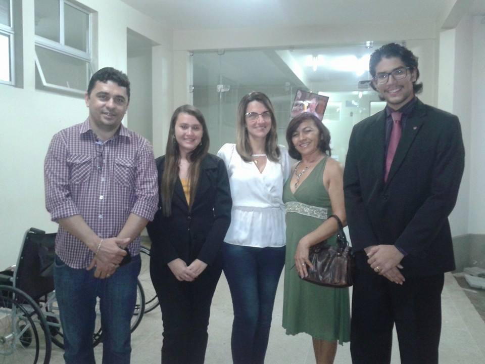 Comissão de Direitos Humanos da OAB Cajazeiras visita o Hospital Universitário Júlio Bandeira