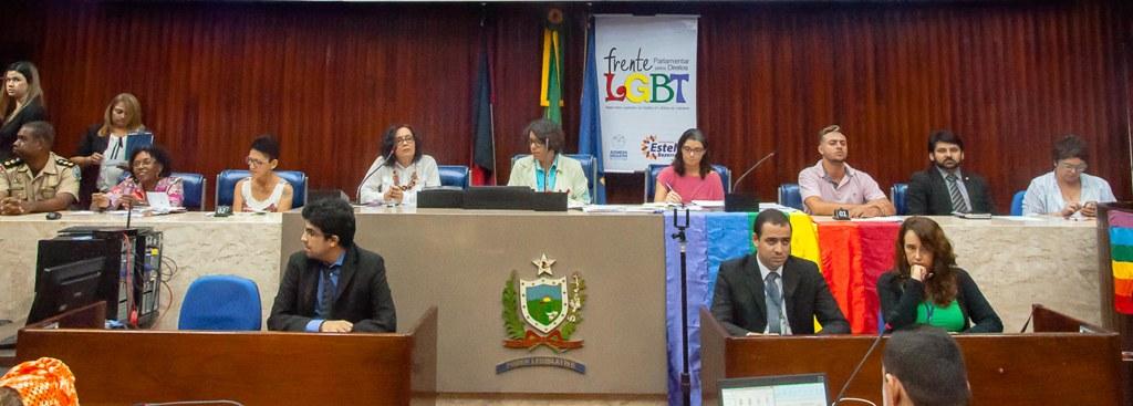 Presidente da Comissão de Direitos Humanos  participa de Audiência Pública contra a Homofobia na PB
