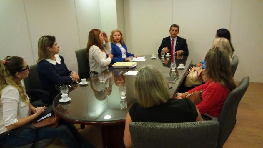 Comissão discute com Paulo Maia plano de valorização e melhorias em tribunais para atender mulheres advogadas