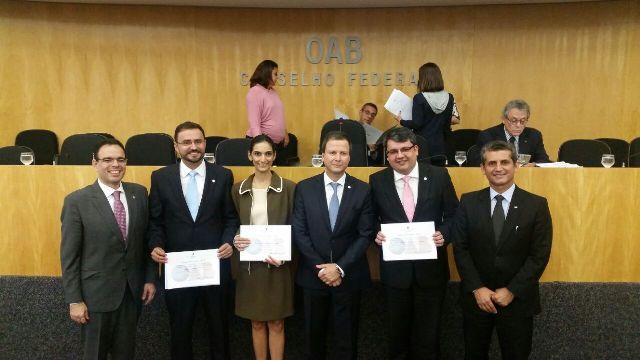 Marina Gadelha, Alfredo Rangel e Edward Johnson assumem titularidade no Conselho Federal da OAB
