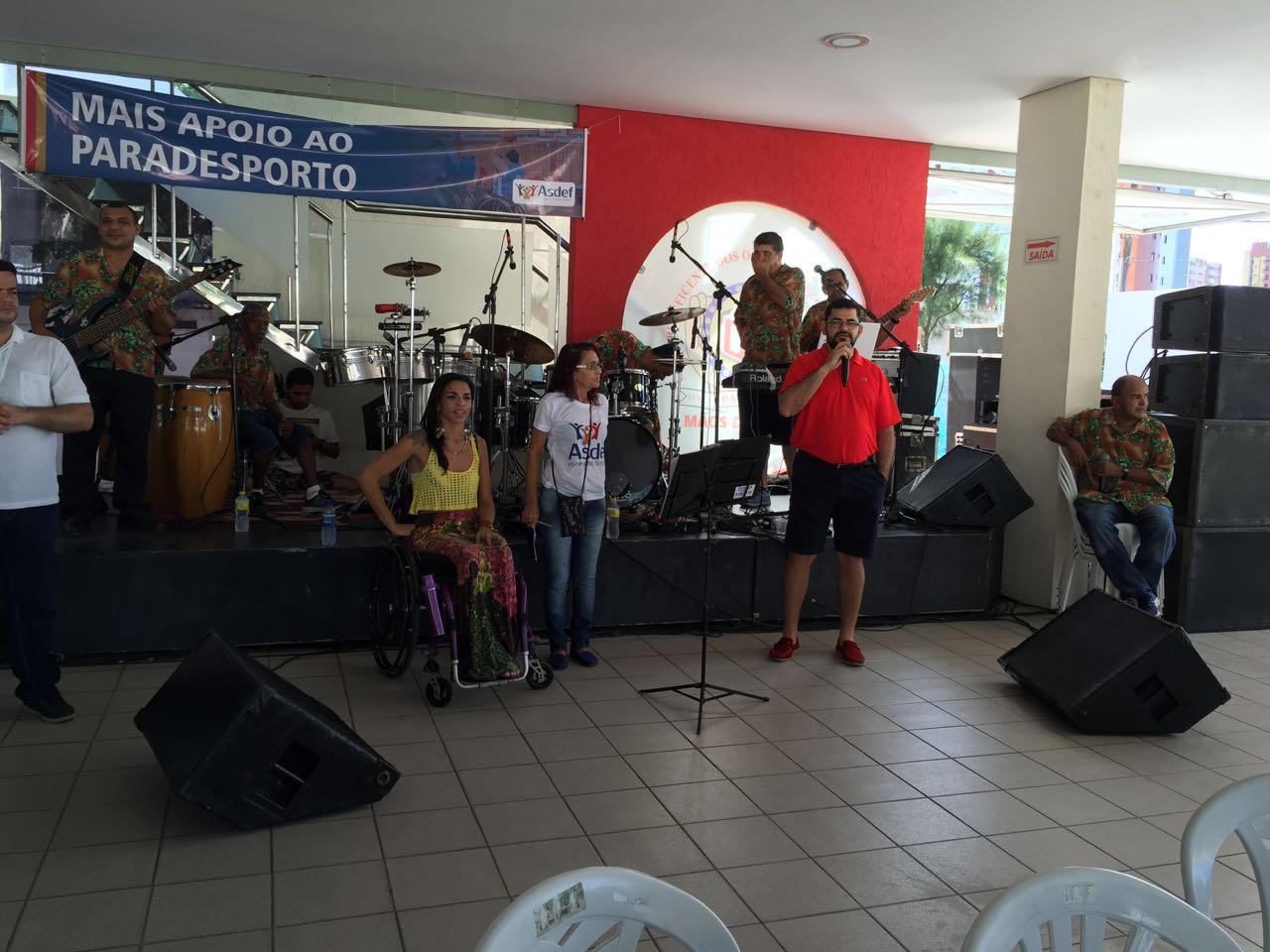 Ricardo Fernandes participa de evento da ASDEF e destaca ações da OAB em defesa das pessoas com deficiência