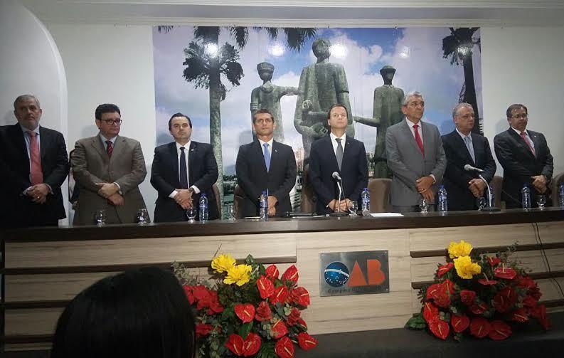 OAB-PB empossa novo Conselho Subseccional da OAB de Campina Grande