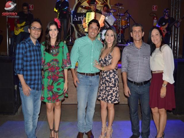 Sucesso: Terceiro Arraiá dos advogados lota Art Choperia em Cajazeiras; Paulo Maia prestigiou a festa