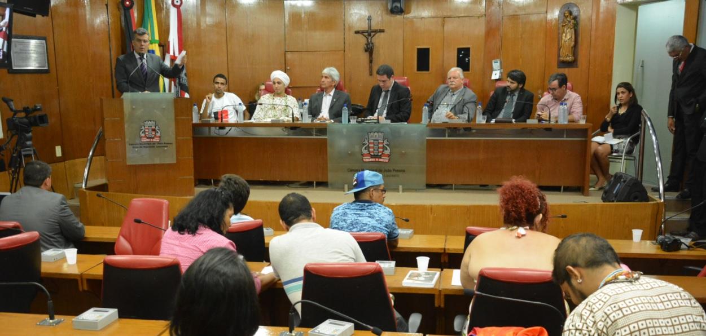 Presidente da Comissão de Direitos Humanos participa de audiência sobre segurança na CMJP