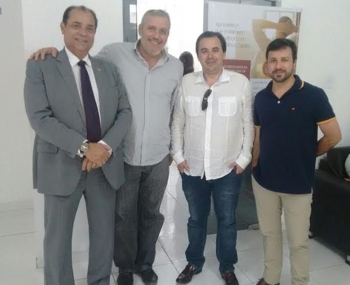 Lideranças nacionais da advocacia prestigiam campanha de vacinação da Caixa dos Advogados da Paraíba