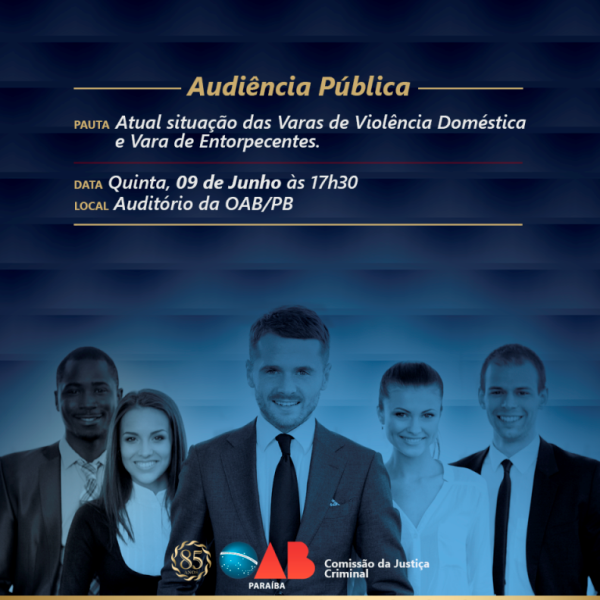OAB-PB discute situação das Varas de Violência Doméstica e Varas de Entorpecentes