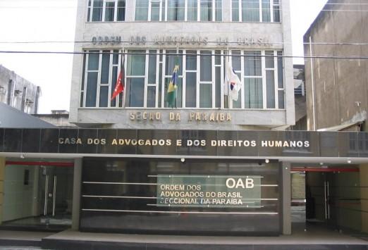 OAB-PB comunica a advogados abertura de inscrições para juízes substitutos do TRE-PB