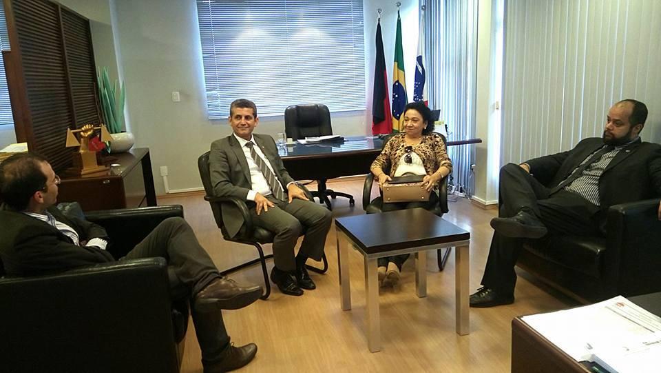 OAB-PB discute parcerias com a Caixa para beneficiar escritórios e advogados paraibanos