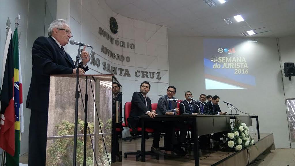 Semana do Jurista: OAB-PB realiza palestras sobre Tribunal do Júri em João Pessoa
