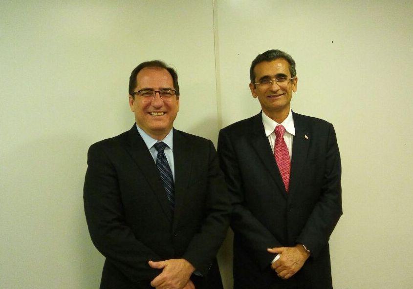 Ouvidor do Conselho Nacional de Justiça faz visita de cortesia a OAB da Paraíba