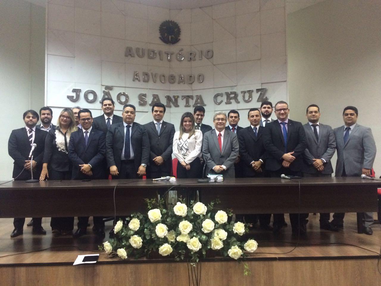 OAB-PB realiza palestra sobre prerrogativas dos advogados no período eleitoral