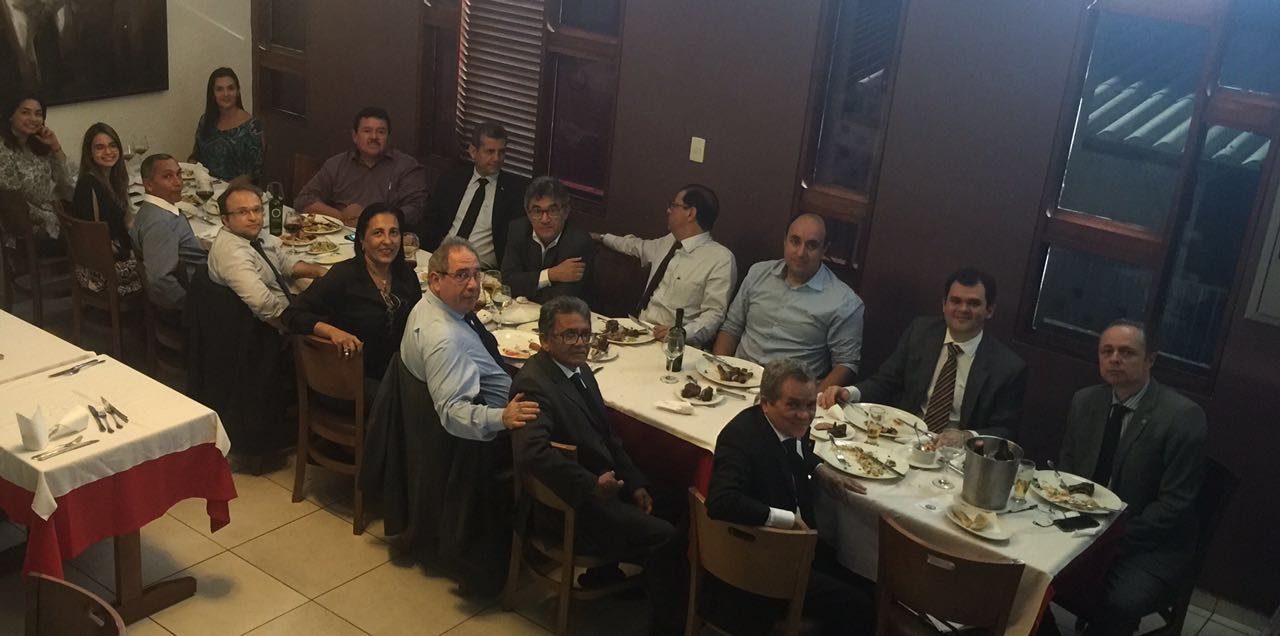 Dia do Advogado: Membros do Tribunal de Ética da OAB-PB realizam confraternização com presidente Paulo Maia