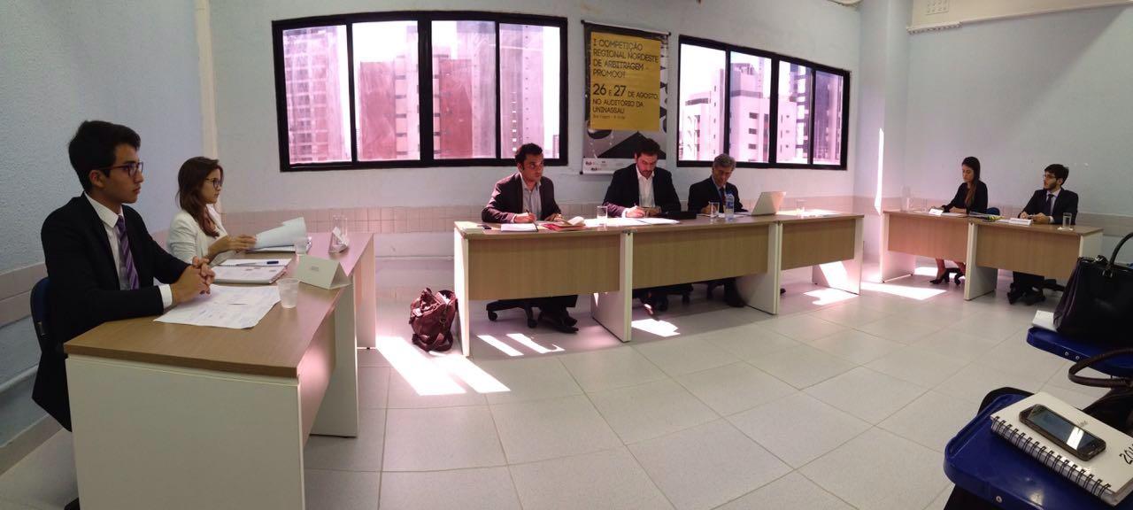 Comissão de Mediação e Arbitragem da OAB-PB participa de competição regional em Recife