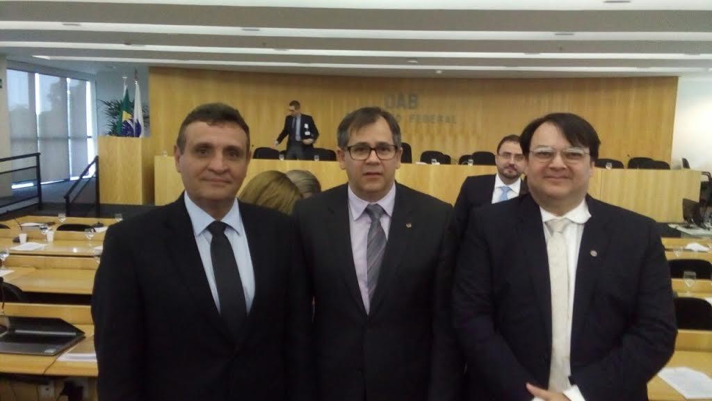 Bruno Veloso, Delosmar Mendonça e Rogério Varela retornam à titularidade do Conselho Federal da OAB