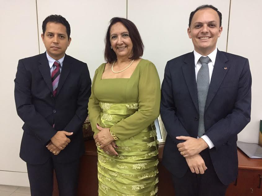 OAB-PB faz visita de cortesia à nova Presidente do TRE-PB