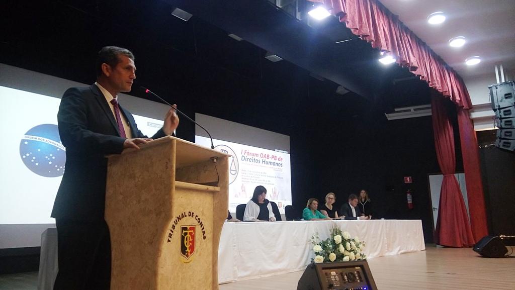 Fórum de Direitos Humanos da OAB-PB é um sucesso de público e organização