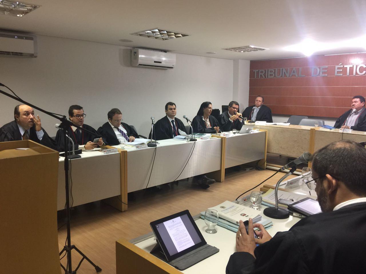 Tribunal de Ética e Disciplina da OAB-PB realiza reunião e julga nove processos