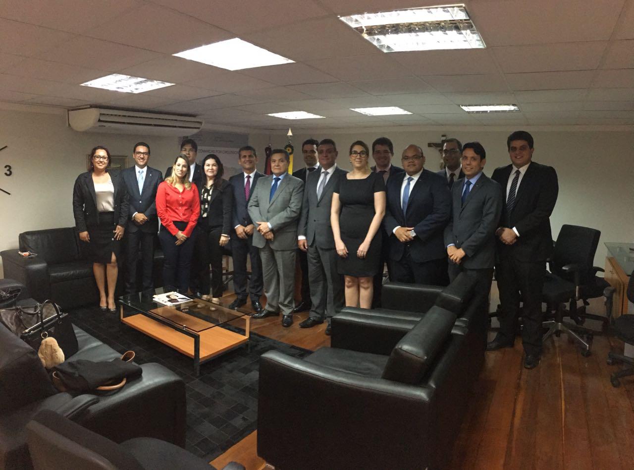 Comitiva da OAB-PB realiza visita de cortesia ao presidente eleito do TJPB