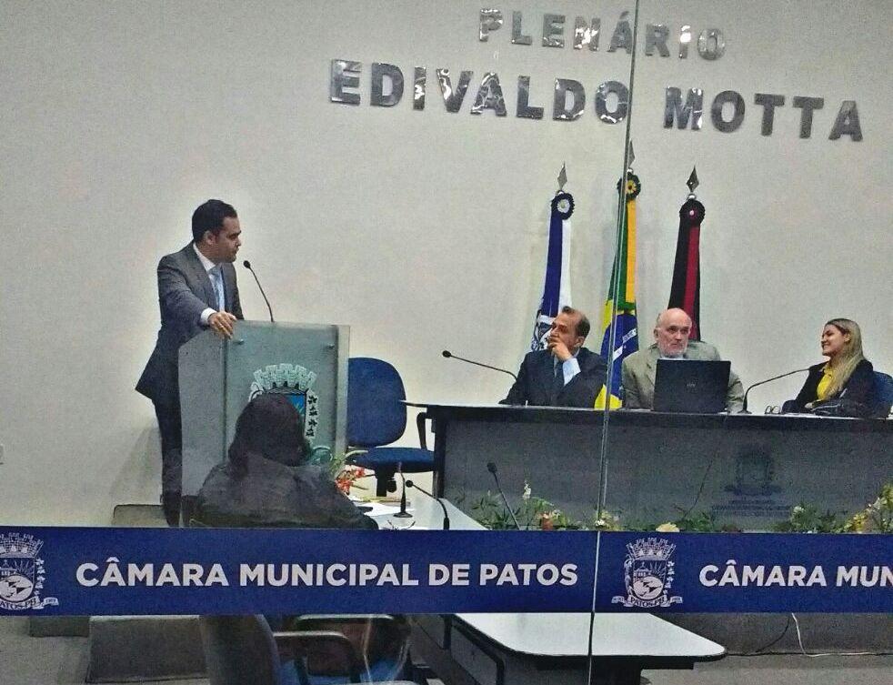 Comissão da OAB-PB esclarece denúncia contra Honorários de advogado na Câmara de Vereadores Patos