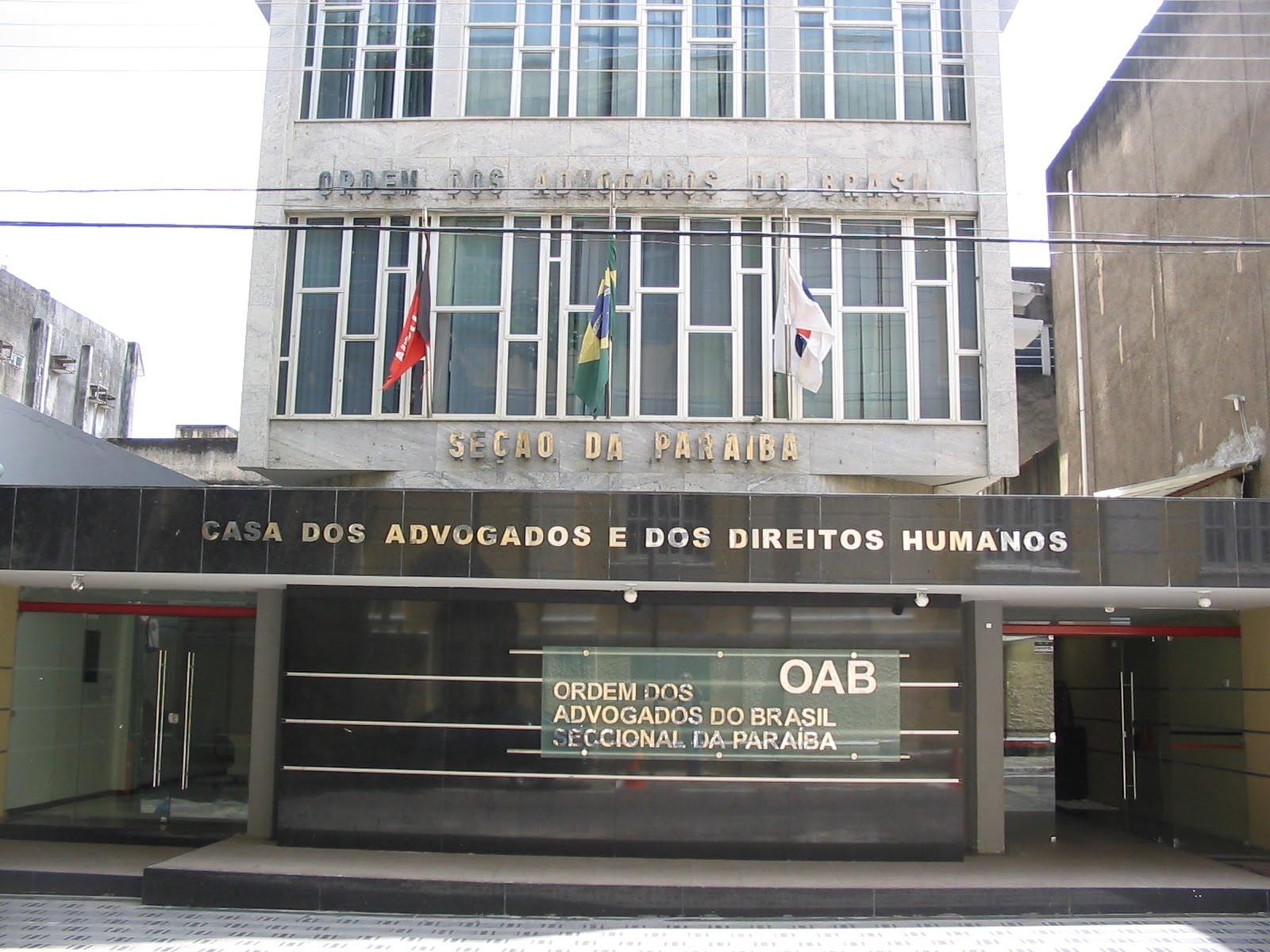 Pacote anticorrupção: OAB-PB se posiciona contra protesto de juízes e promotores em horário de expediente