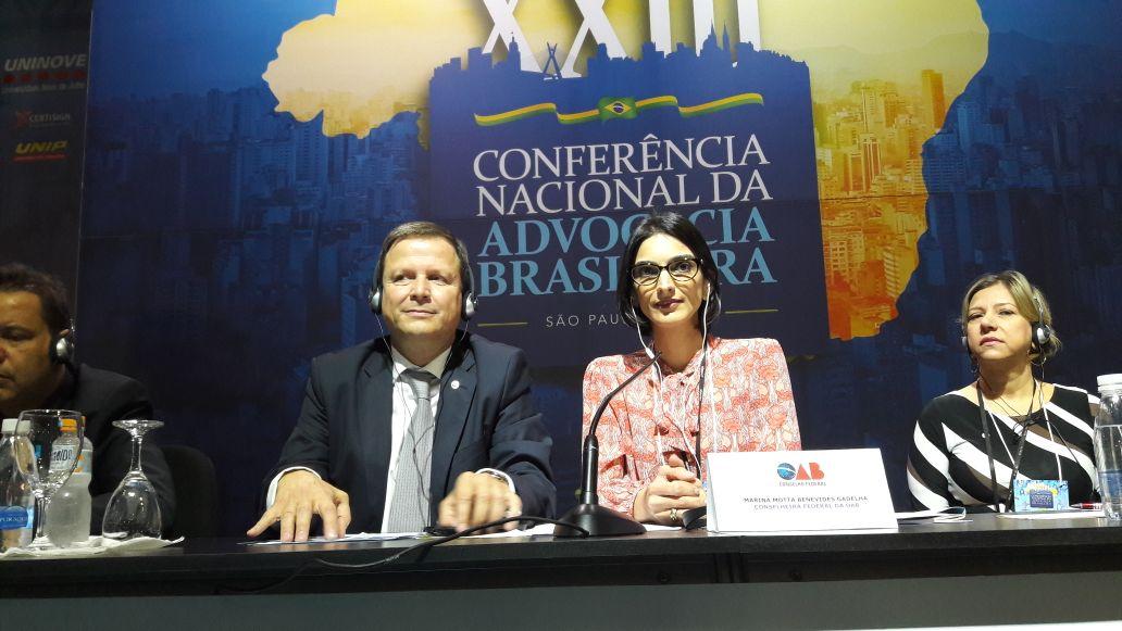 Painéis com participação de paraibanos lotam terceiro dia da Conferência Nacional da Advocacia
