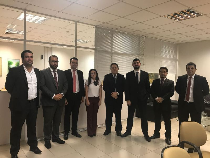 Blitz das Prerrogativas visita fóruns de João Pessoa e busca melhorias para trabalho dos advogados