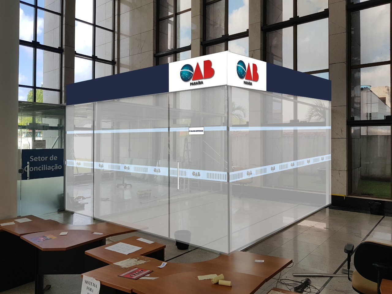 OAB-PB inaugura nova Sala da Advocacia do Fórum Cível de João Pessoa nesta quarta