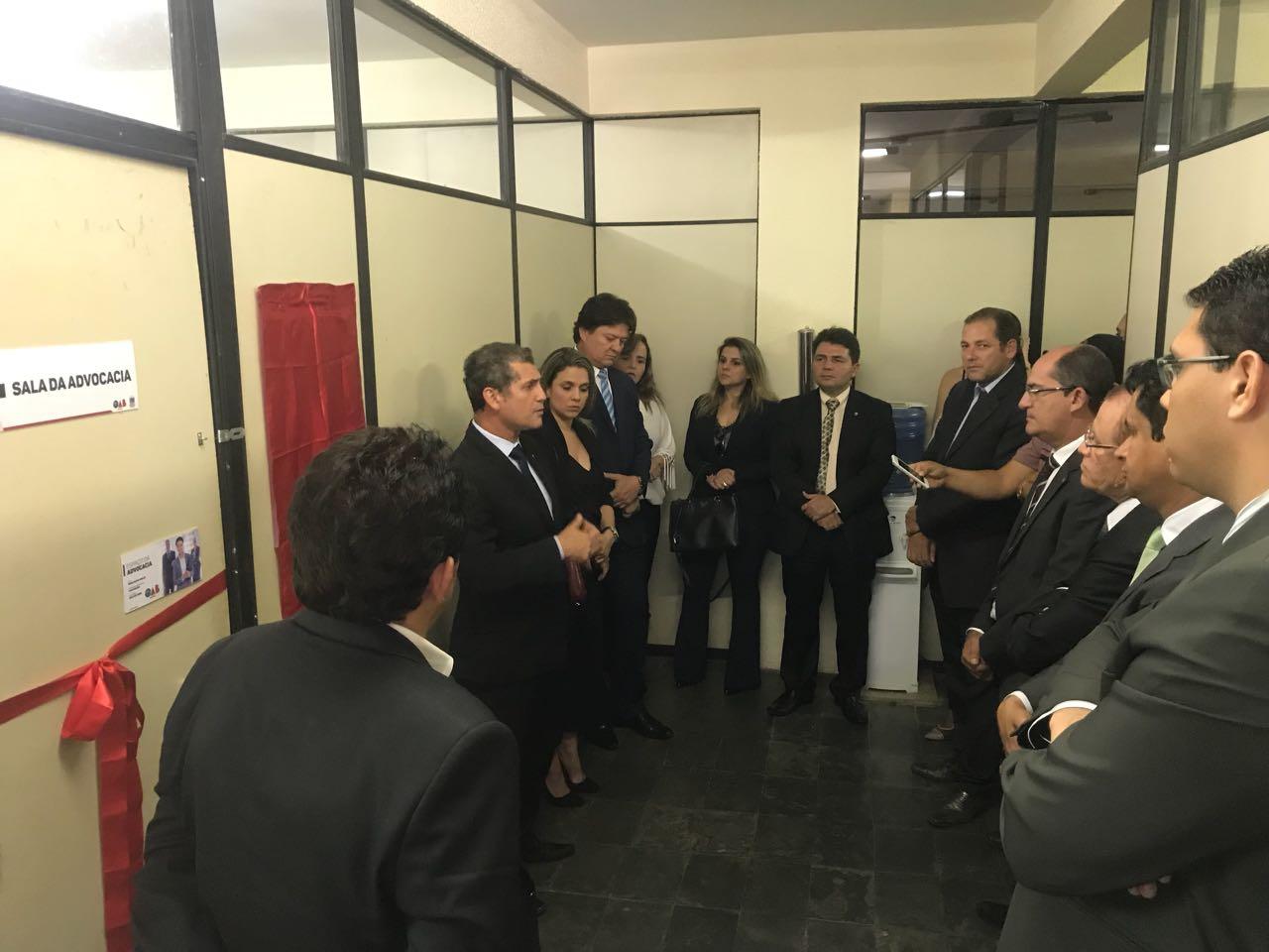 OAB-PB inaugura Sala da Advocacia no Fórum de Jacaraú e atende advogados do Litoral Norte