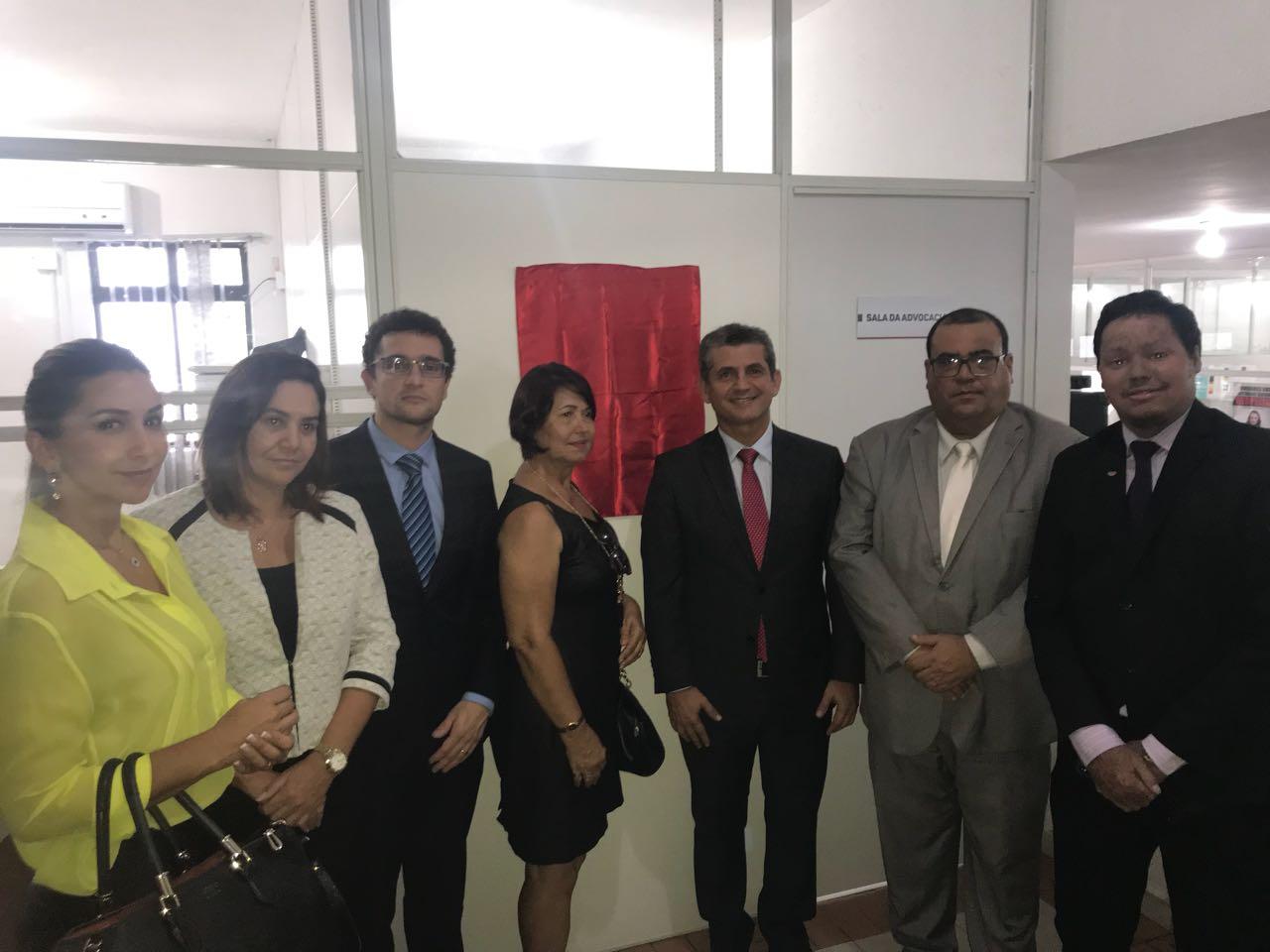OAB-PB atende pleito de advogados do Vale do Paraíba e inaugura Sala Advocacia no fórum de Itabaiana