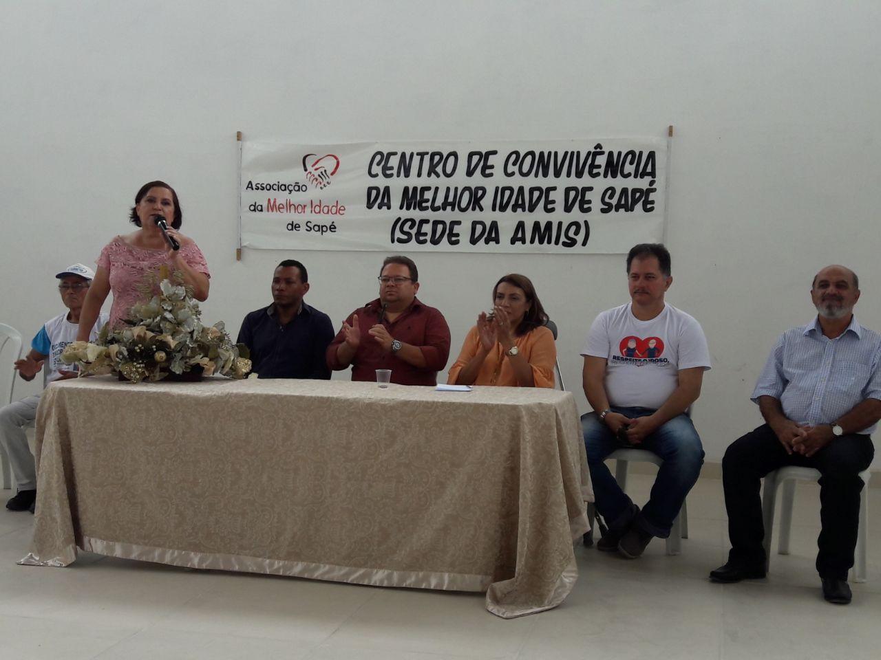 Comissão da OAB-PB participa de inauguração do Centro de Convivência da Melhor Idade da cidade de Sapé