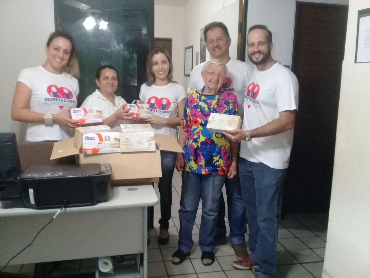 Comissão de Defesa dos Direitos o Idoso da OAB-PB realiza doações no Vila Vicentina