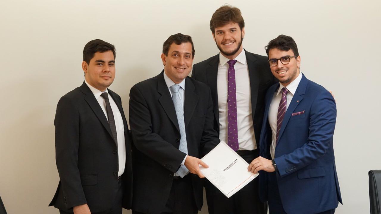 NAE da OAB-PB protocola Projeto de Lei que institui e regulamenta estágio na ALPB