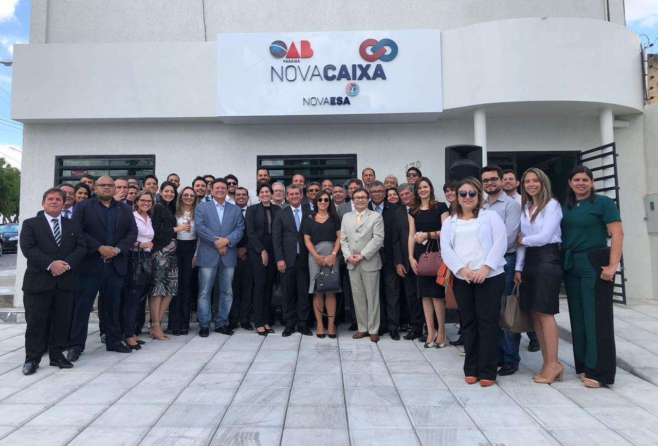 OAB-PB inaugura sede da Nova Caixa de Assistência dos Advogados em Campina Grande