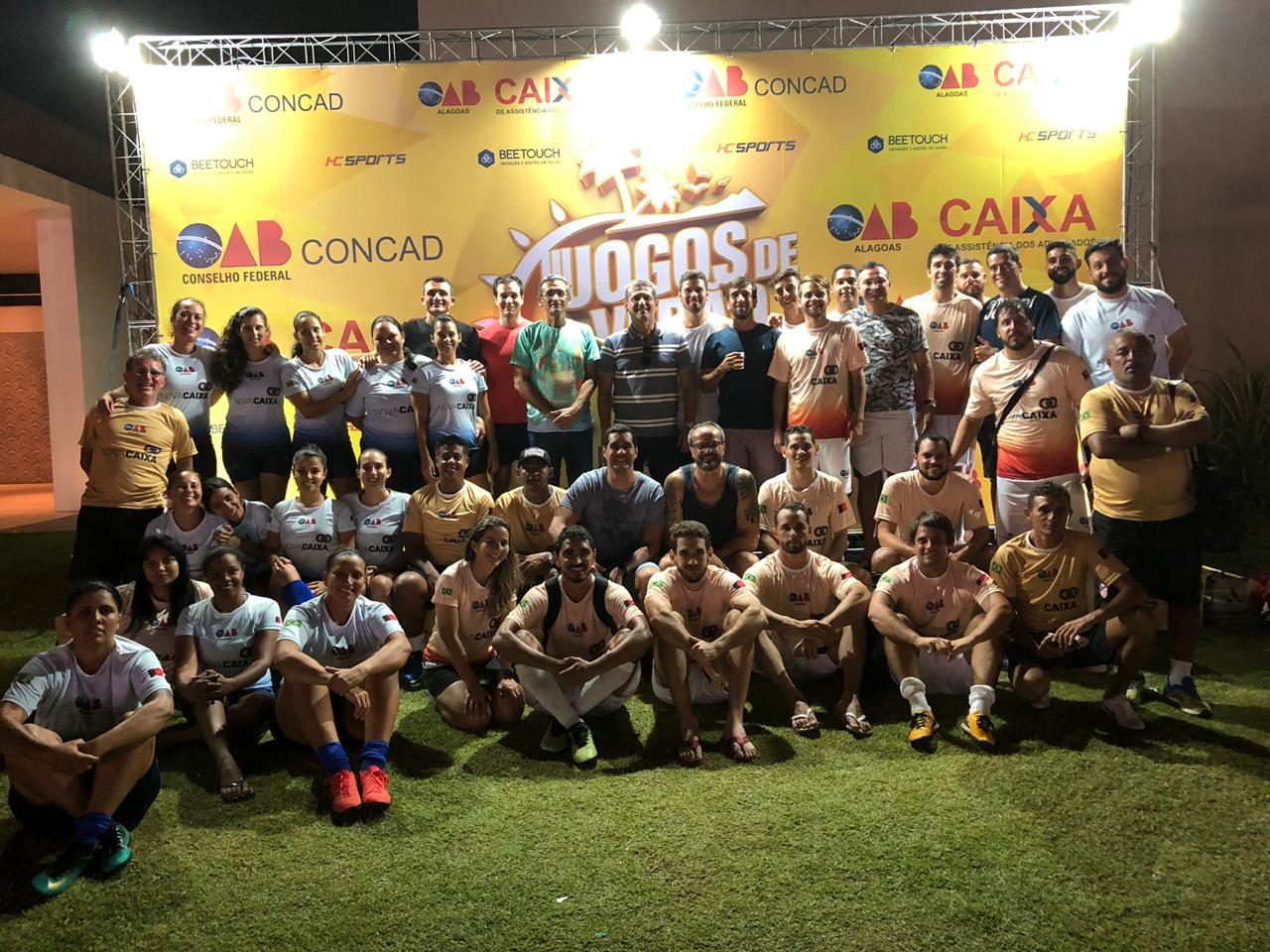Paulo Maia e Assis Almeida acompanham Jogos de Verão da Caixa em Maceió