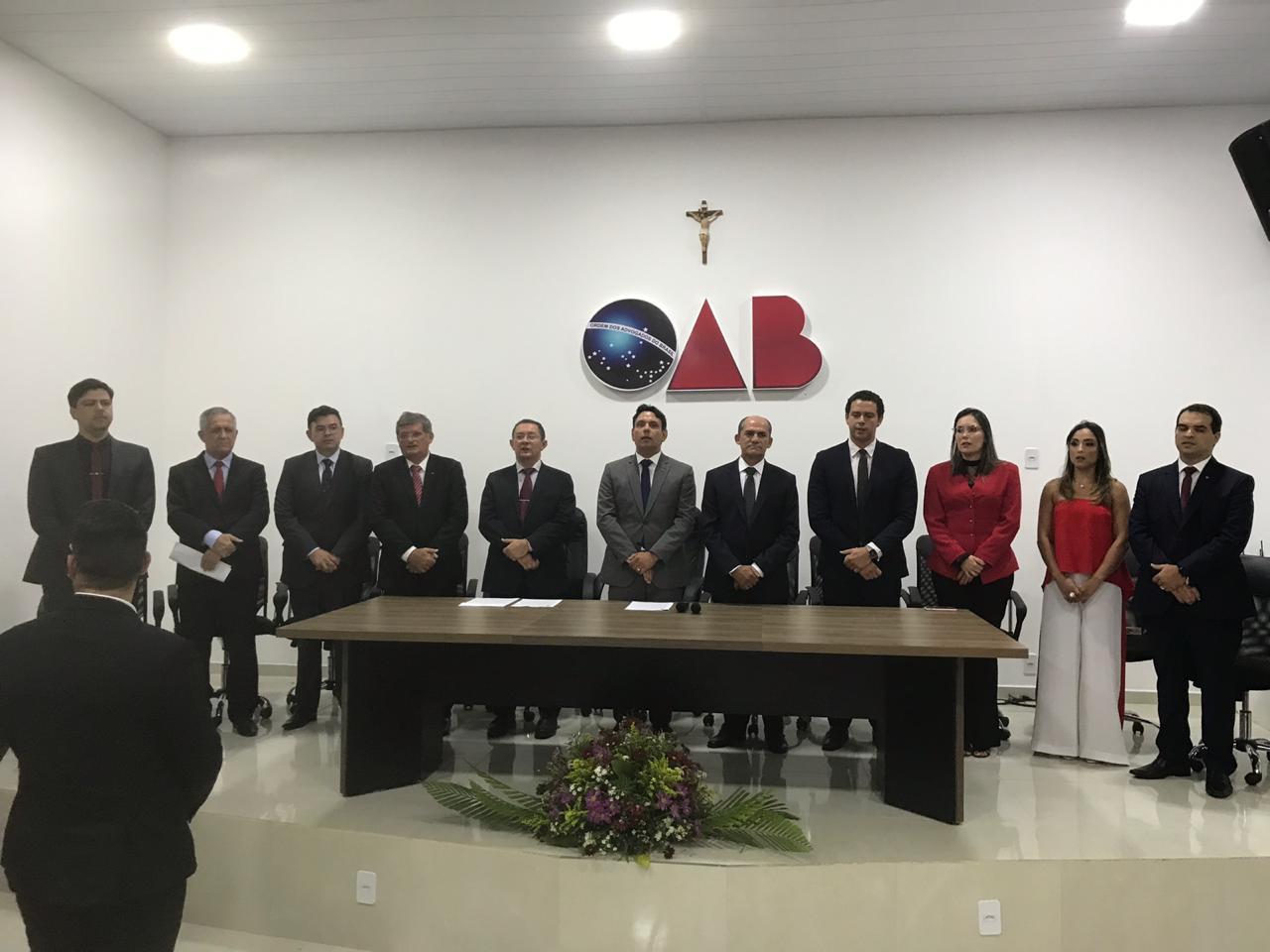 Subseção da OAB de Guarabira empossa diretoria para o triênio 2019/2021