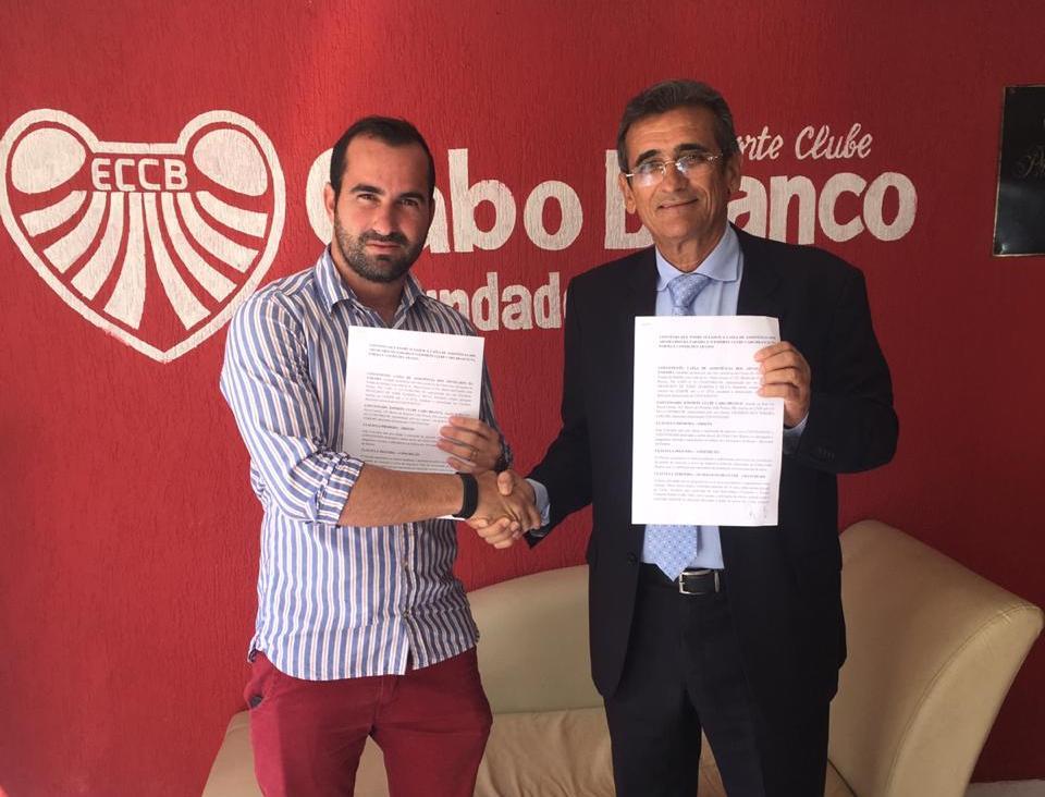 CAA-PB firma convênio e advogados se tornarão sócios do Esporte Clube Cabo Branco