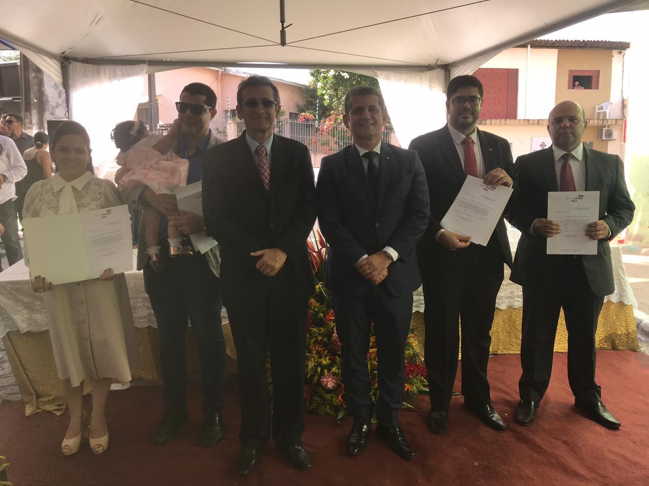 OAB-PB inaugura sede e empossa diretores da Subseção do Vale do Mamanguape e da CAA