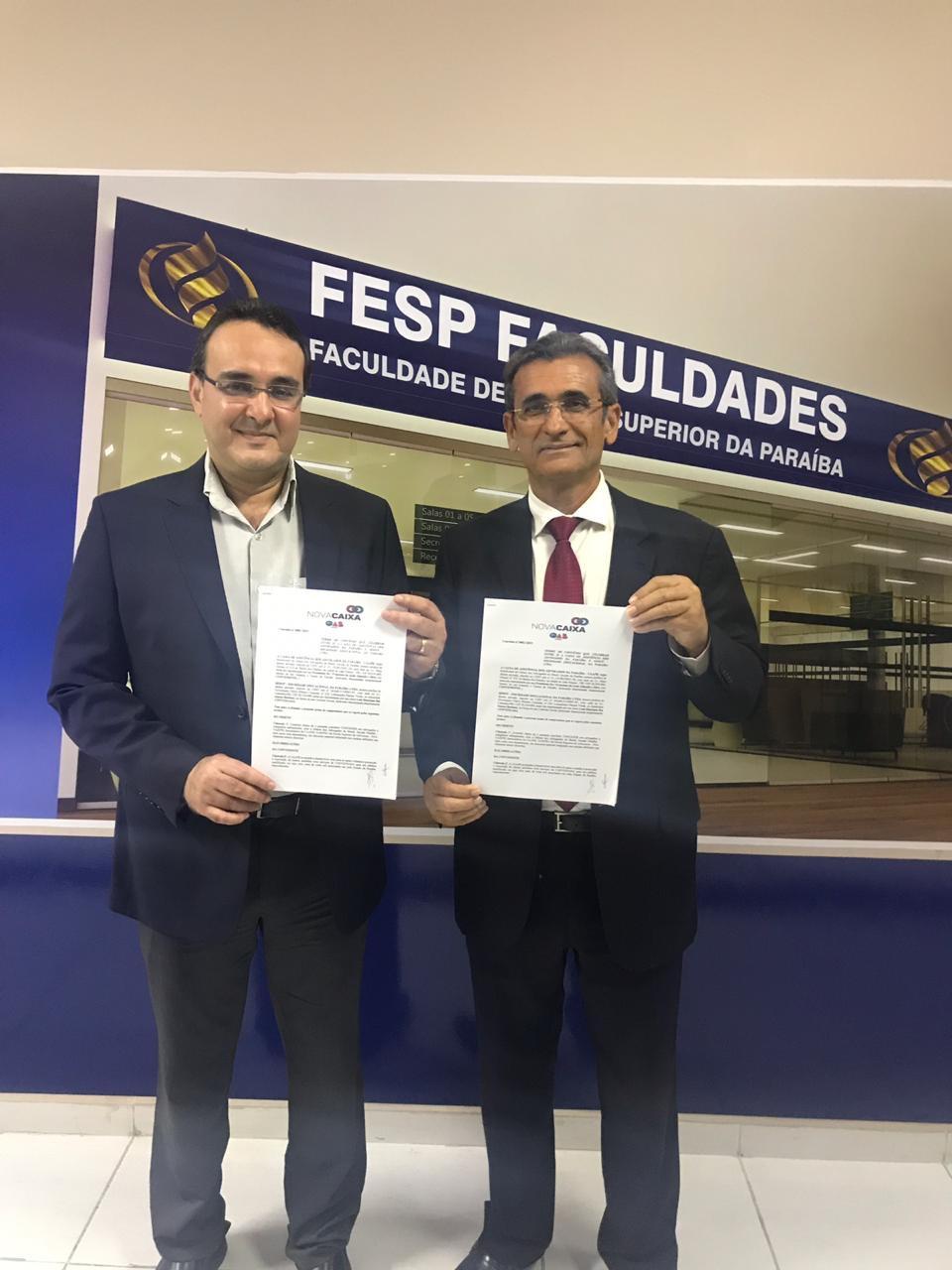 Caixa de Assistência dos Advogados firma parceria com a FESP Faculdades
