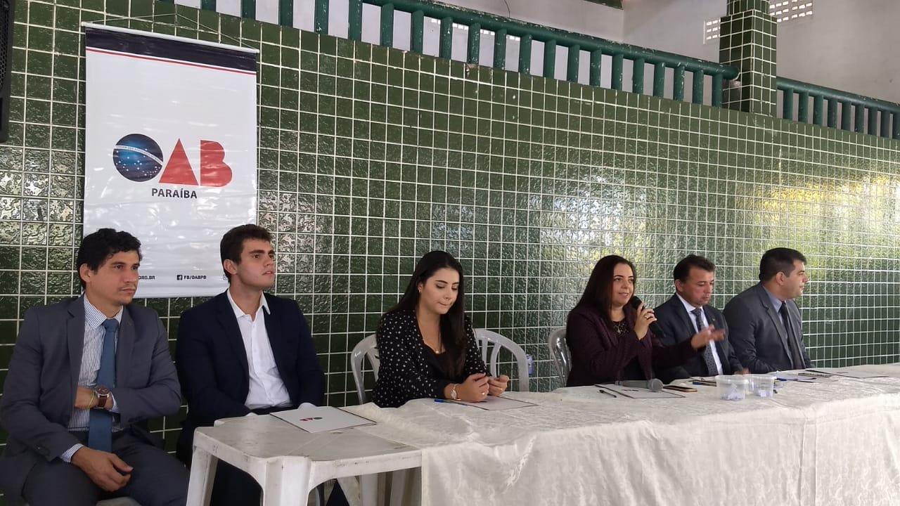 OAB-PB realiza sabatina com candidatos à prefeitura de Cabedelo