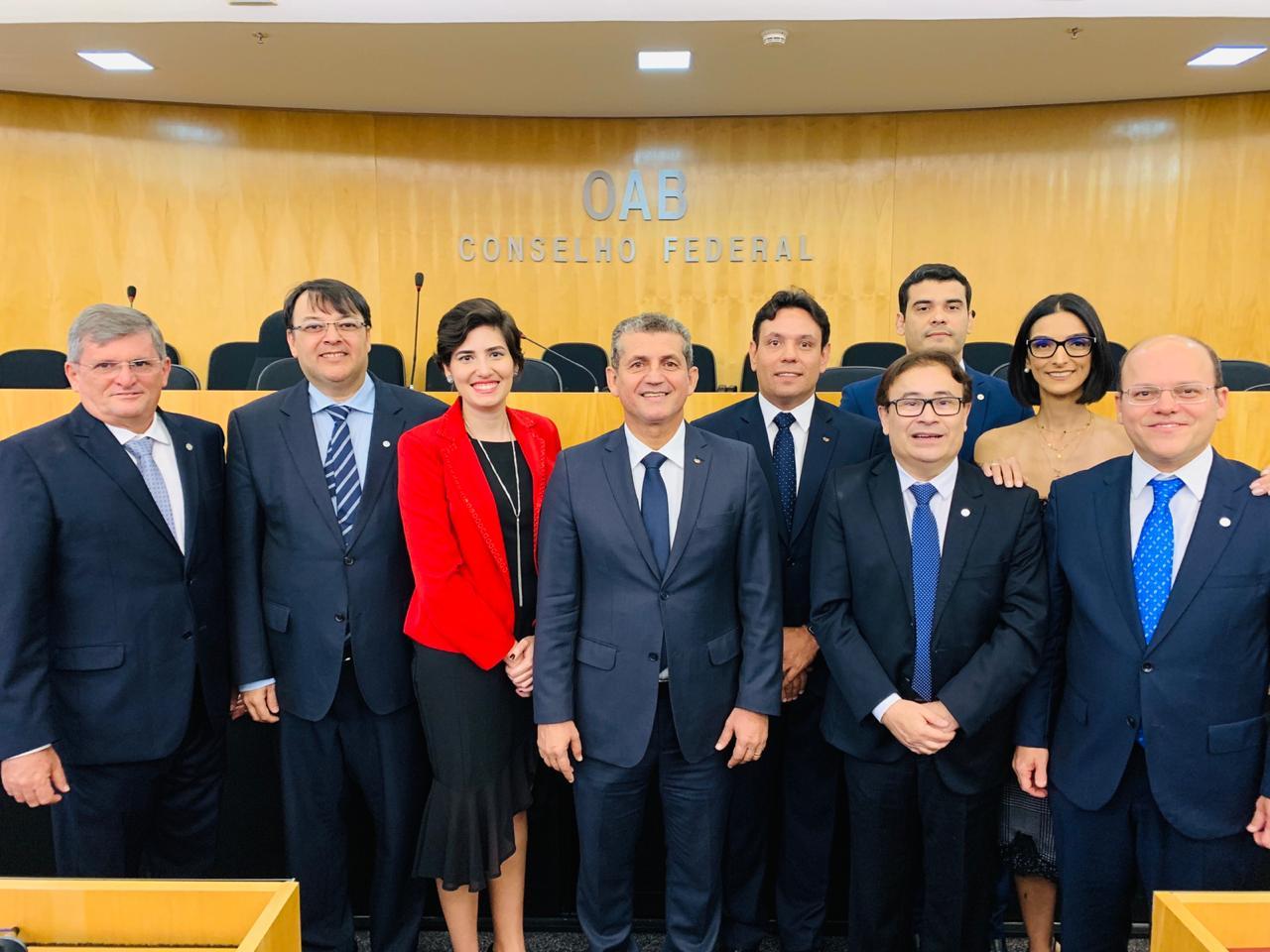 Advogados paraibanos são empossados Conselheiros Federais da OAB em Brasília