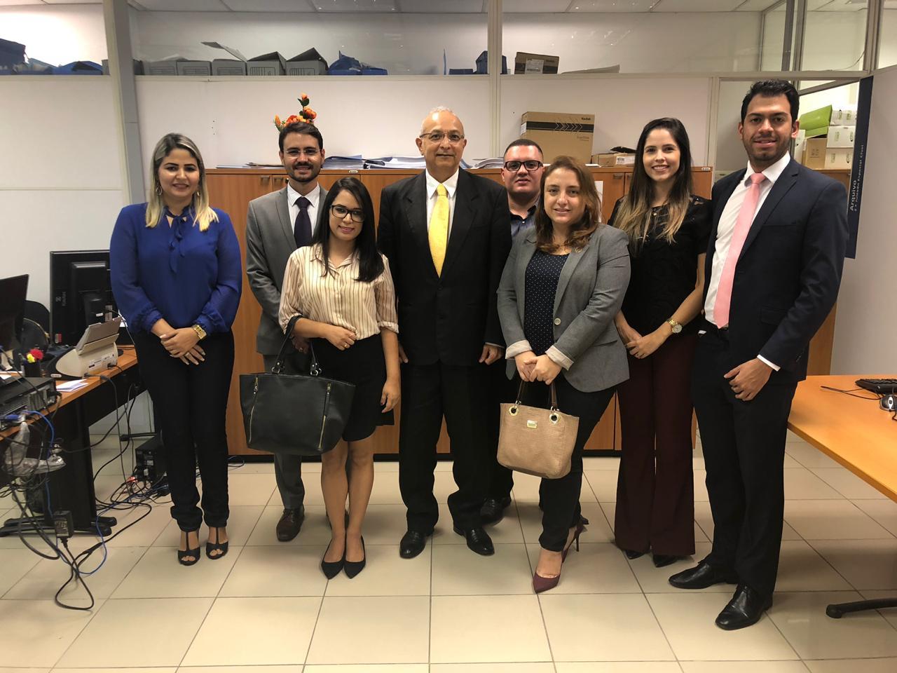 Comissão da OAB-PB discute com magistrado melhorias no funcionamento do 2º Juizado Especial Cível de JP