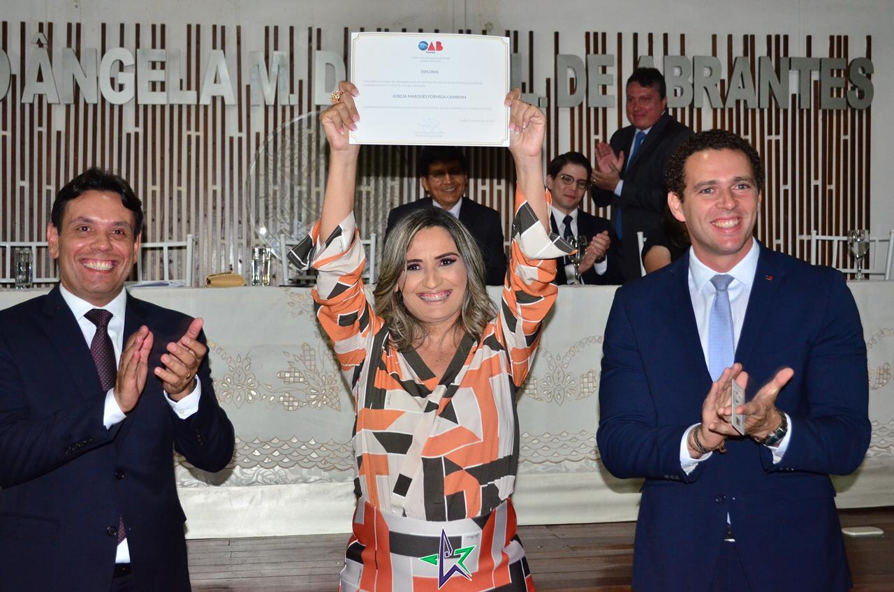 Nova Diretoria da Subseção da OAB de Sousa é empossada para o triênio 2019/2021