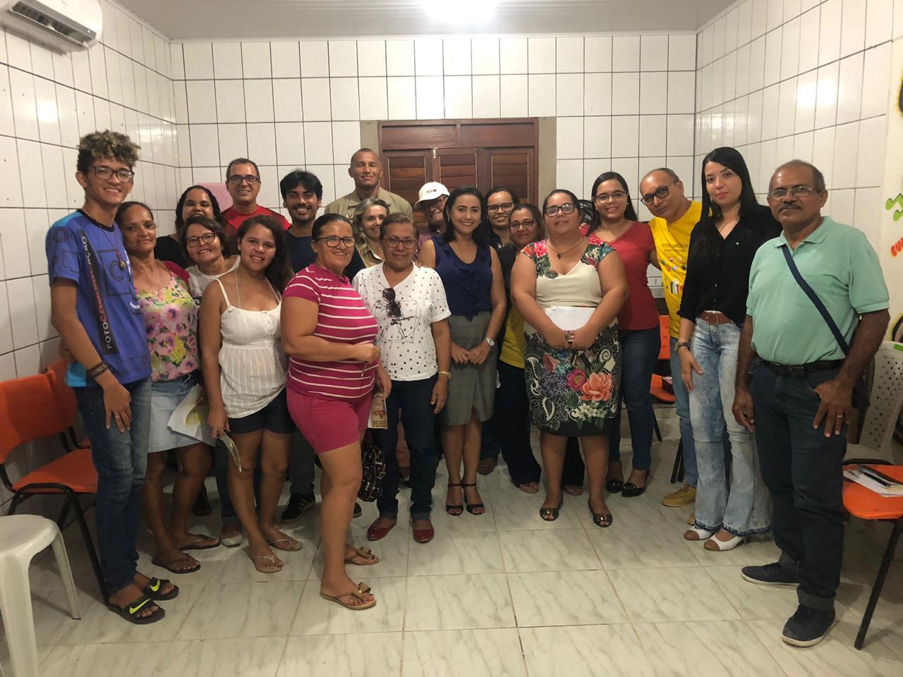 Comissão de Direitos Humanos participa de reunião e discute ação social para comunidade Mário Andreazza