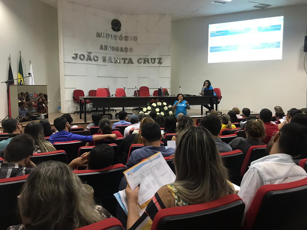 OAB-PB participa de reunião de alinhamento com municípios que concorrem ao Selo UNICEF