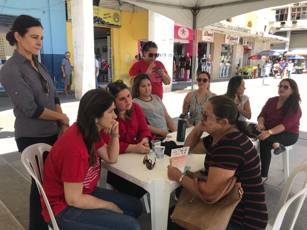 Mês da Mulher: OAB-PB realiza manhã solidária no Ponto de Cem Réis