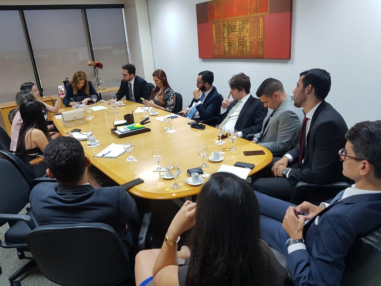 Comissão da Jovem Advocacia da OAB-PB se reúne em Brasília e discute projetos para a classe