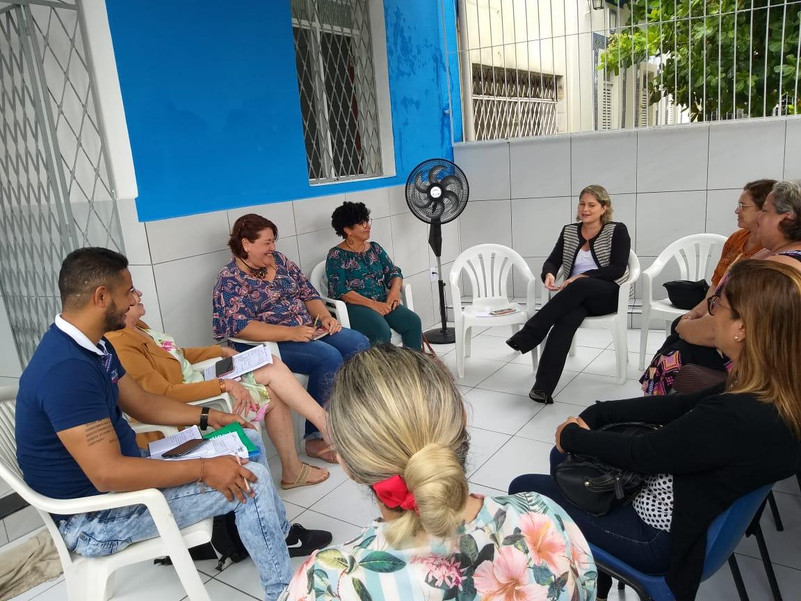 Comissão de Defesa dos Direitos da Criança e do Adolescente participa de reunião com Redexi